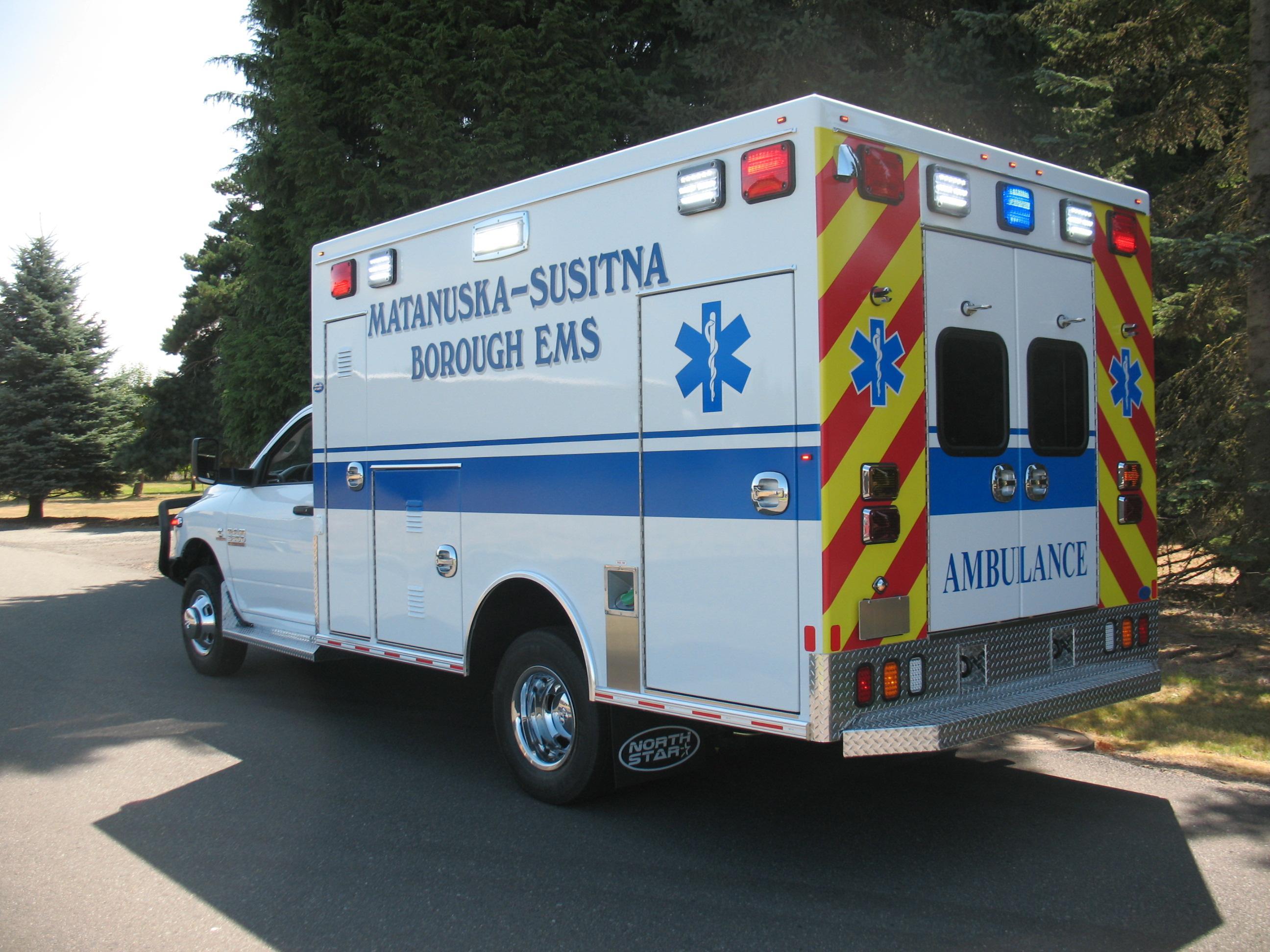 Braun Northwest North Star Emergency Response Vehicles Vehicle